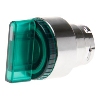 Selector Switch Illuminated 2 Position Green