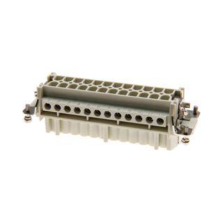 Socket Inserts 24P+E 16A Fem Socket Out No 1-24