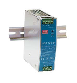 Power Supply 85-264VAC In 24VDC  5A Out 120 W