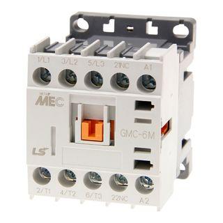 Contactor LS Electric Mini 2.2kW 6A 240VAC 1N/C