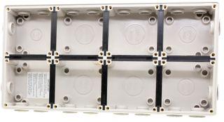 Deep Mounting Enclosure 8 Module Base IP66