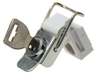 Enclosure Accessory Locking Draw Latch 15mm