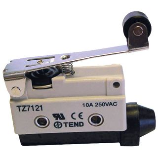 Limit Switch 10A IP65 30mm Double Roller Lever