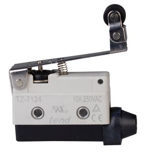 Limit Switch 10A IP65 48mm Double Roller Lever