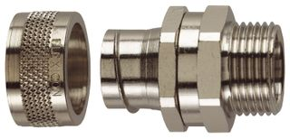 Conduit Fitting Straight 16mm 16mm Thread IP40