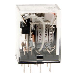 Relay Square Pin 2 Pole 24VDC 8 Pin 10A