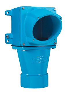 Wall Box DS6 25mm Entry Metal Straigh Metal Sleeve