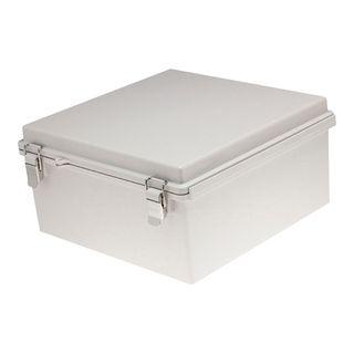 Enclosure ABS Grey Body Grey Hgd Lid 300x400x120