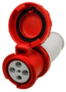 Extension Sockets 63A 415V 3P+E