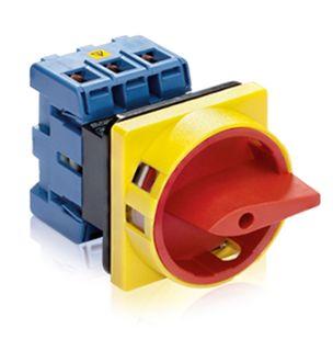 Main Switch Isolator E type 3Pole 25A Pan Mnt