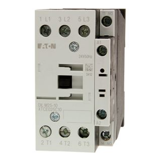 Contactor Eaton 15kW 24VDC 1 N/O