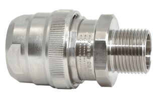 Gland Conduit Exd Steel 20mm 20mm Th IP69