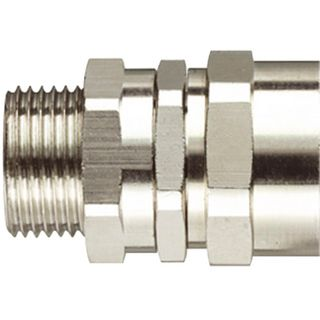 Conduit Fitting Straight 16mm 20mm Thread IP54
