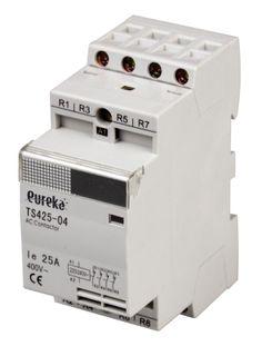 Contactor Installation 25A 240VAC 4 N/O 36mm