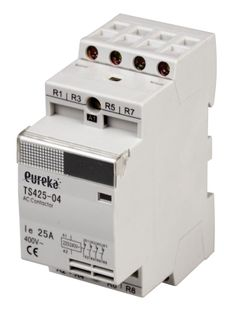 Contactor Installation 25A 240VAC 3 N/O 1 N/C 36mm