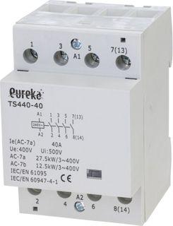 Contactor Installation 40A 240VAC 4 N/O 72mm