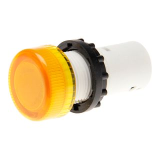 Pilot Light Direct Connect 22mm Yellow