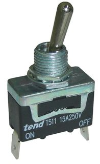 Toggle Switch 10A Single Pole On On