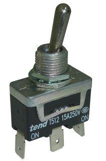 Toggle Switch 10A Double Pole On Off On