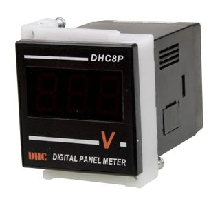 Voltmeter 600VAC 48x48mm Digital