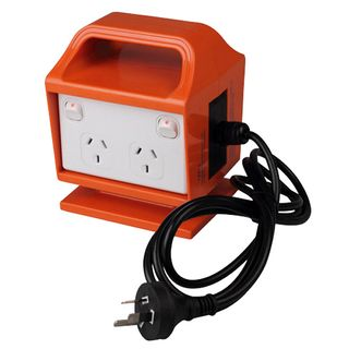 Portable Power Outlet 15A RCBO Protected