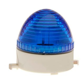 Strobe Light 12VDC 80x75mm 76 Flash p/m Blue