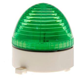 Strobe Light 12VDC 80x75mm 76 Flash p/m Green