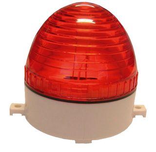 Strobe Light 12VDC 80x75mm 76 Flash p/m Red