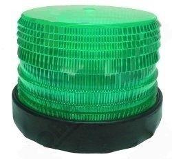 Strobe Light 12-48VDC 2Flash 140x115mm 60Fpm Green