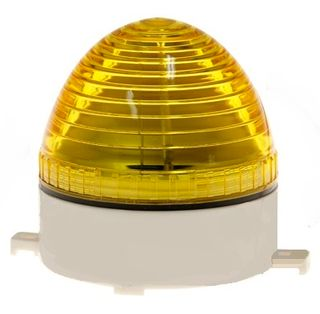 Strobe Light 12VDC 80x75mm 76 Flash p/m Amber