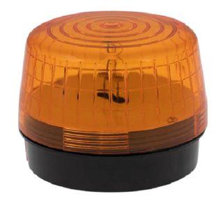 Strobe Light 12VDC 100x75mm 76 Flash p/m Amber