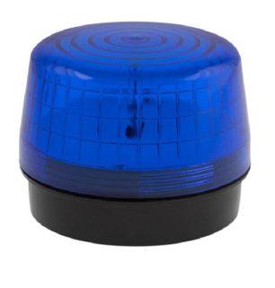 Strobe Light 12VDC 100x75mm 76 Flash p/m Blue