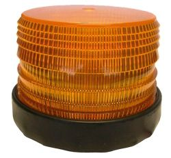Strobe Light 12-48VDC 2Flash 140x115mm 60Fpm Amber
