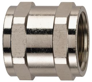 Conduit Couplers 25mm Nickel Plated Brass