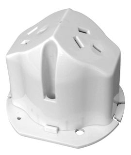 Surface Socket 10A Double Surface Socket with Base