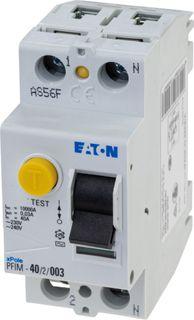 RCD Eaton 2 Pole 63A 30mA