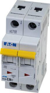 MCB Eaton C Curve 2 Pole 6kA 1A