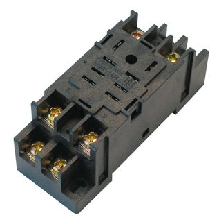 TLY2 Square 8 pin relay bases