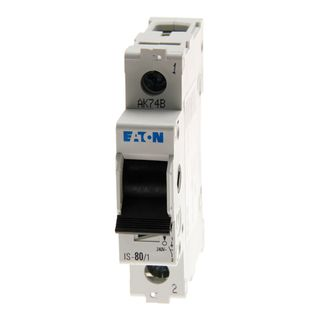 Isolator Eaton 1 Pole 100A