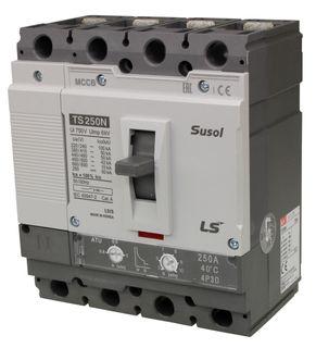 MCCB LS Electric 200-250A 50kA Thermal Magnetic 4P