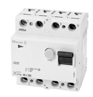 RCD Eaton 4 Pole 80A 30mA