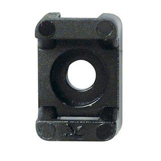 Cable Tie Base Black 23 mm Length 9 mm Tie Width