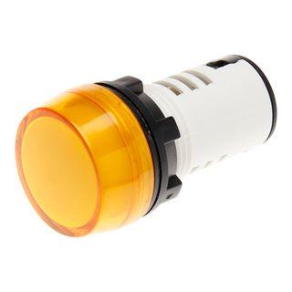 Pilot Light 22mm LED 240V AC Amber