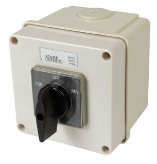 Reversing Switch 3 Pole 20A
