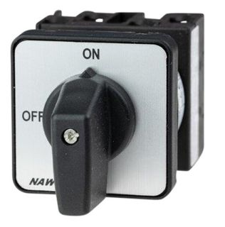 Cam Switch E Type 3Pole 20A On Off Panel Mount