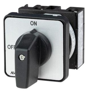 Cam Switch E Type 1Pole 20A On Off Panel Mount