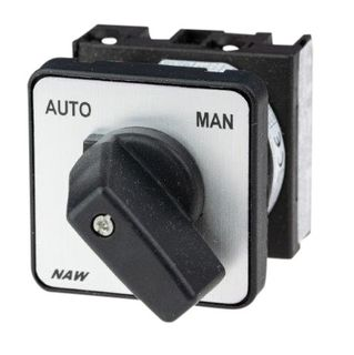 Cam Switch E type 1Pole 20A Aut Man Pan Mnt On