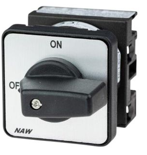 Cam Switch E Type 2Pole 20A Off On Panel Mount