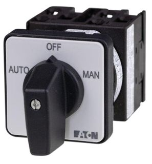 Cam Switch EZ Type 1 Pole 20A Auto Off Man P/Mount
