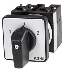 Cam Switch E Type 3Pole 20A Reverse Panel Mnt 3Pos